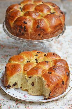 Les gourmandises d'Isa: BRIOCHE MOELLEUSE AUX PÉPITES DE CHOCOLAT