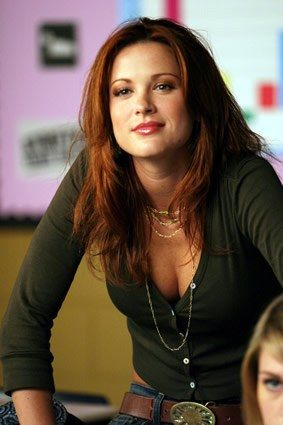daneel harris; I respect her as a woman and as an actress, not just because I have a healthy obsession with her husband ;)
