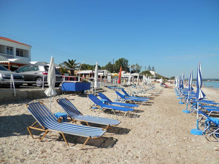 Acharavi beach in Corfu - Η παραλία της Αχαράβης στην Κέρκυρα