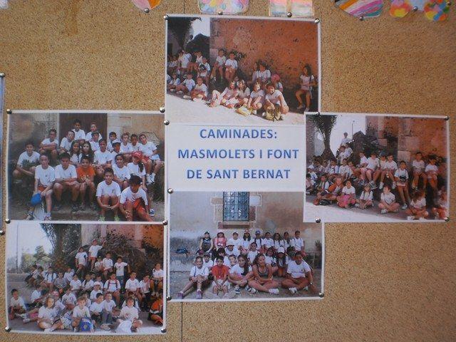 Setmana de la Mobilitat Sostenible i Segura 2013: Els alumnes del Col·legi del Lledó de Valls han fet una caminada a Masmolets (CM) i a la Font de Sant Bernat (CS) i s'ho han passat molt bé!