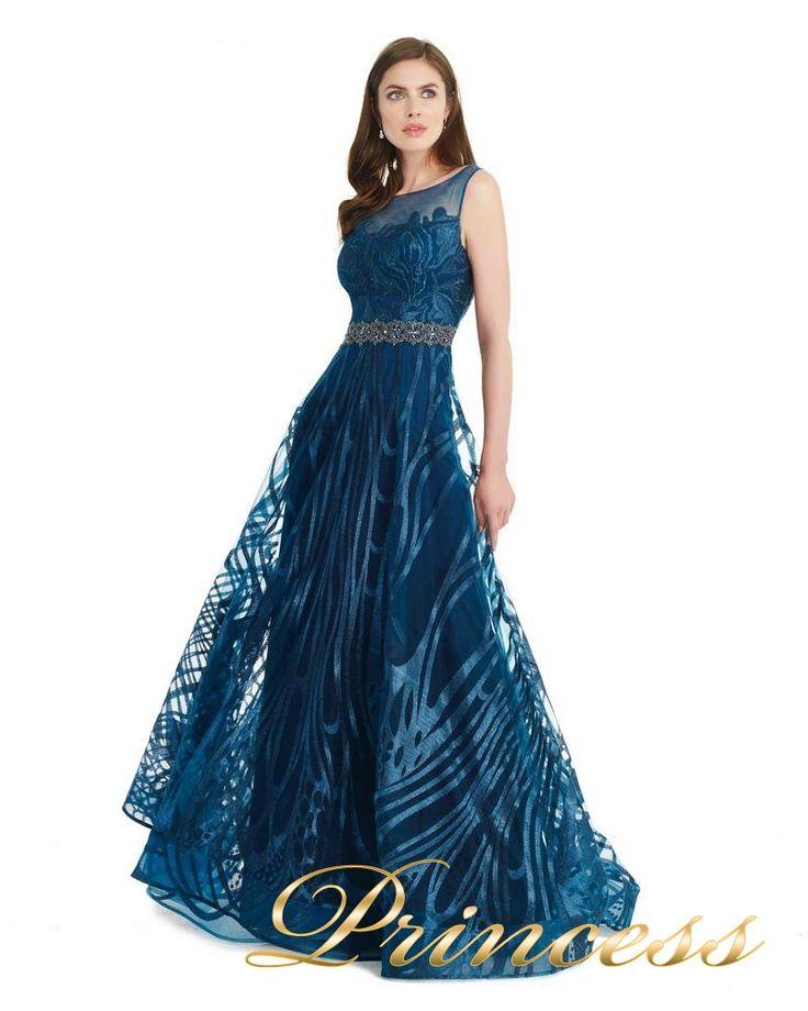Вечернее платье 131176 teal. Цвет бирюзовый