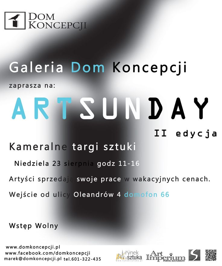 Art Sunday - Dom Koncepcji - targi sztuki