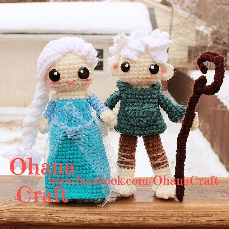Jack Frost Crochet Pattern --Queen Elsa and Jack Frost ...