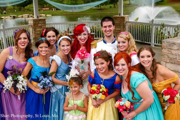 The Most Insanely Detailed Disney-Themed Wedding Ever  I found this 10 years late!