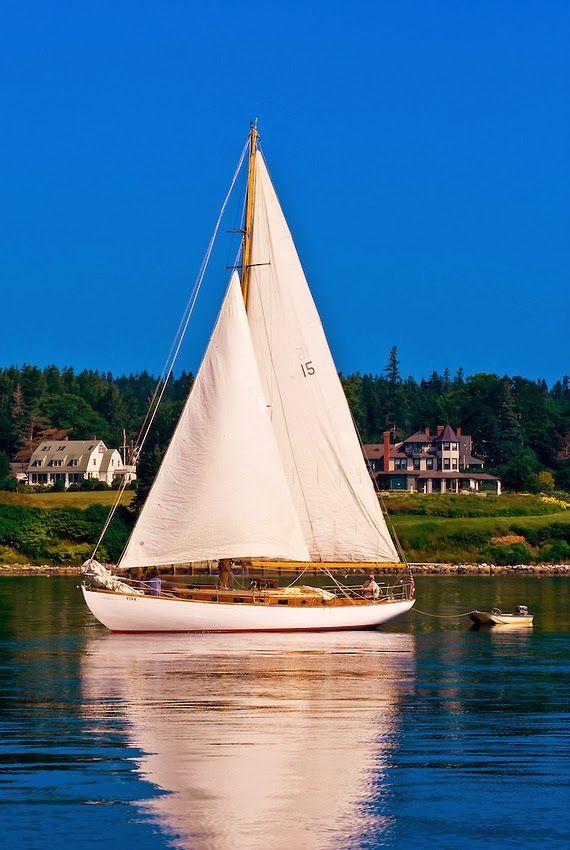 Castine Harbor, Penobscot Bay, Maine ...
