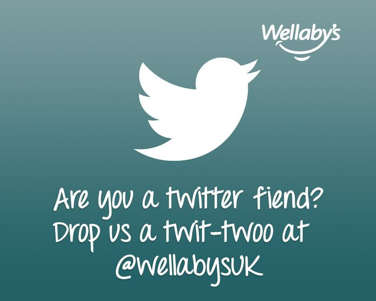 Are you a twitter fiend? Drop us a twit-twoo at   https://twitter.com/wellabysuk