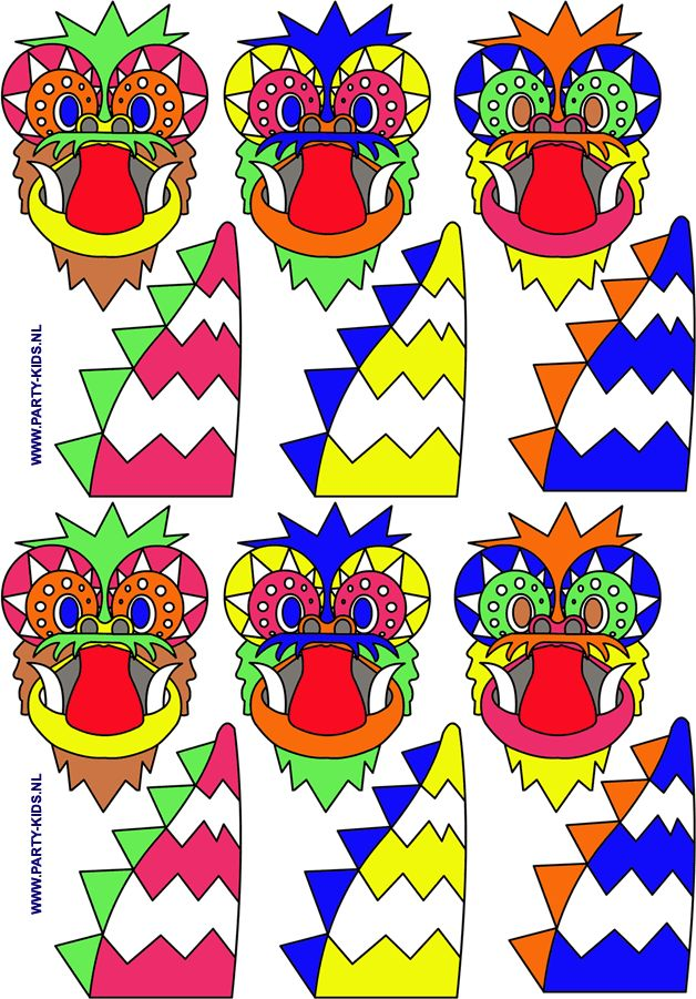 Afbeeldingsresultaat voor chinese draak zelf maken