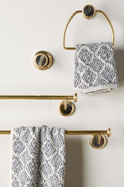 Alvear Towel Ring - anthropologie.com