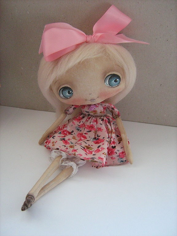 Muñecas perfumadas hechas a mano.  Masters Fair - hecho a mano Lin))).  Hecho a mano.