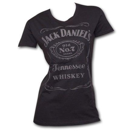 Jack Daniel's Old No. 7 Raised Label Women's Tshirt