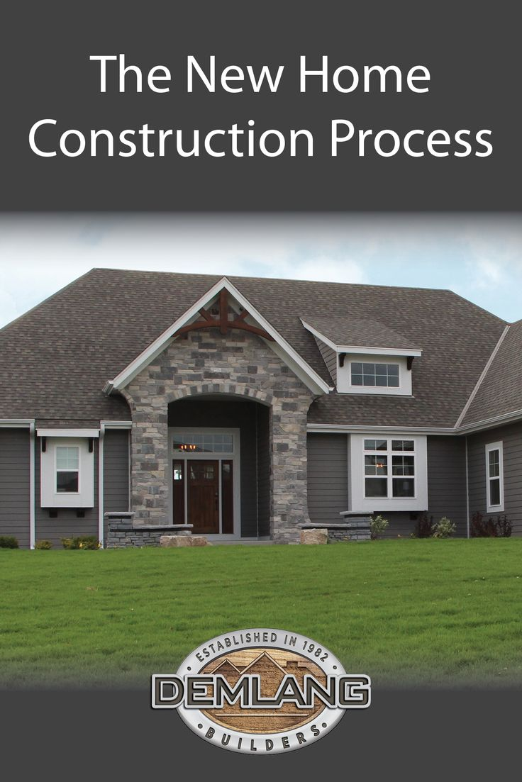 36 best the building process images on pinterest new for New construction building process