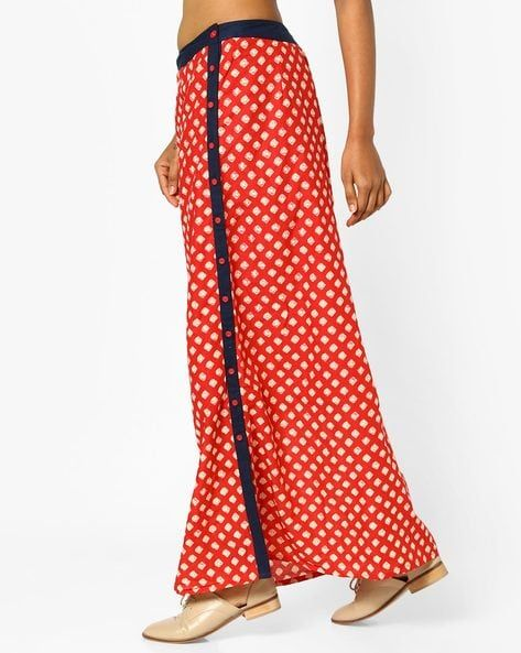 a3f460296 Printed Panelled Maxi Skirt in 2019 | Cloths n shoes | Red skirts ...