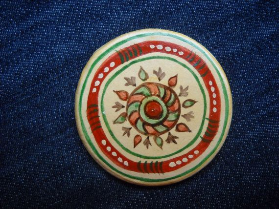 Romanian traditional motivesmagnets 06 by DeniseClemenco on Etsy, $10.00