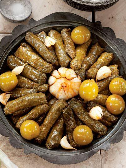 Erikli yaprak sarması Tarifi - Türk Mutfağı Yemekleri - Yemek Tarifleri