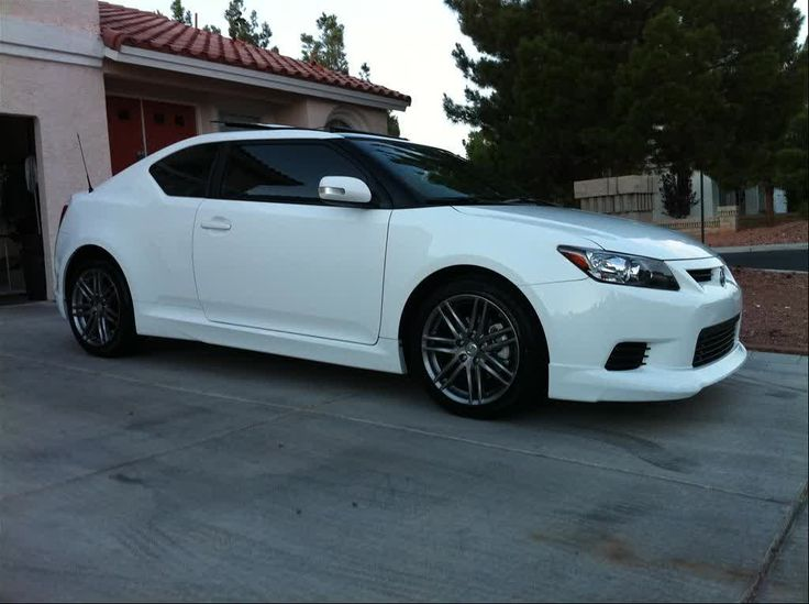 Scion tC Hatchback White