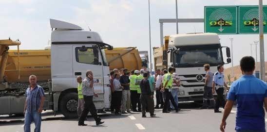 Yavuz Sultan Selim (YSS) Köprüsü nakit gişeleri nedeniyle oluşan kuyruğa isyan…