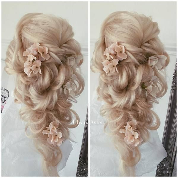 Bridal Hairstyles For Long Hair With Flowers : Best 25 long bridal hairstyles ideas on pinterest
