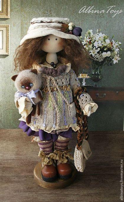 Коллекционные куклы ручной работы. Ярмарка Мастеров - ручная работа Селена. Бохо. Handmade.