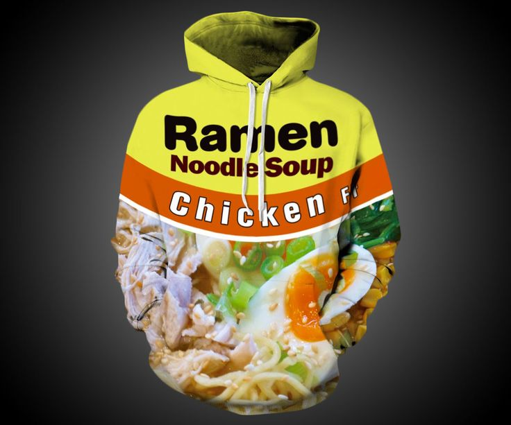 Ramen Hoodie | DudeIWantThat.com