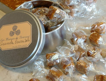 """My """"secret"""" gift spot in Paris - the caramels are to die for, and only 5.50 a box! épices - Roellinger - copyright ©  Salted Butter Caramels Epices-Roellinger Paris"""