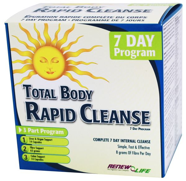 Renew Life Total Body Rapid Cleanse 7 Day Kit | Sunrise Health Foods