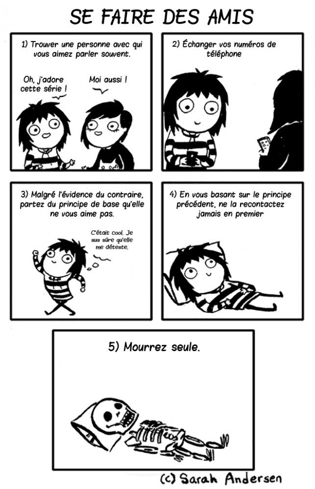16 bandes dessinées hilarantes qui décrivent à la perfection la vie des personnes introverties