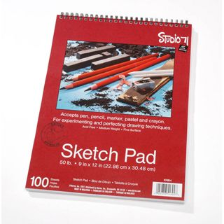 Studio 71 Sketch Pad - 9 x 12 inches - 100 sheets