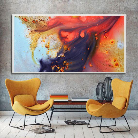 Abstrakte Malerei Druck bereit zum Aufhängen, rote große lebendige Gemälde, rote Malerei Druck, moderne Malerei, rot-Kunstdruck auf Leinwand moderne Kunst Ich versende international, bitte kontaktieren Sie mich mit Ihren Standort für eine Lieferung Zitat. Verfügbare Größen, gestreckt