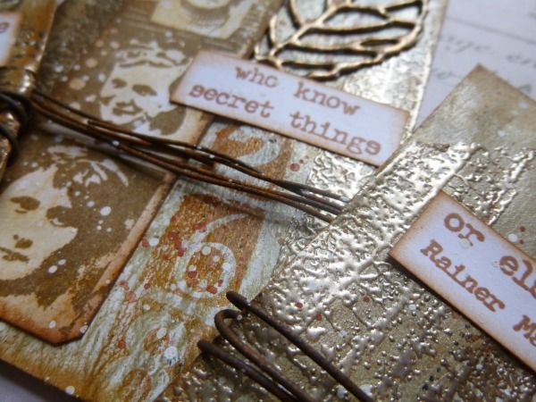 PaperArtsy: 2017 #13 Metallics: Metallic Secrets with EEA {by Alison Bomber}