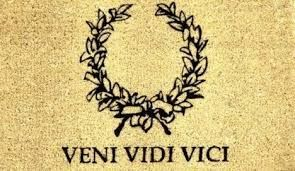 Image result for veni vidi vici