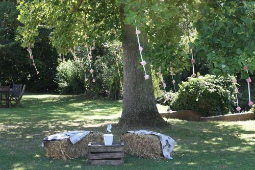 Réception de mariage en plein air : quoi de plus romantique ? - Photo : Un mariage sans nuages