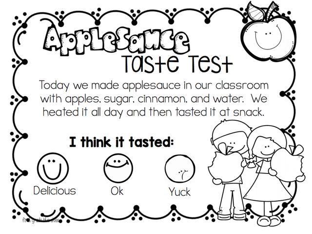 Apple Unit and Crockpot Applesauce Recipe (First Grade