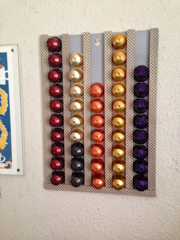 Lazy Crafternoons.......: Craft fuel: Coffee - DIY Nespresso Capsule Holder