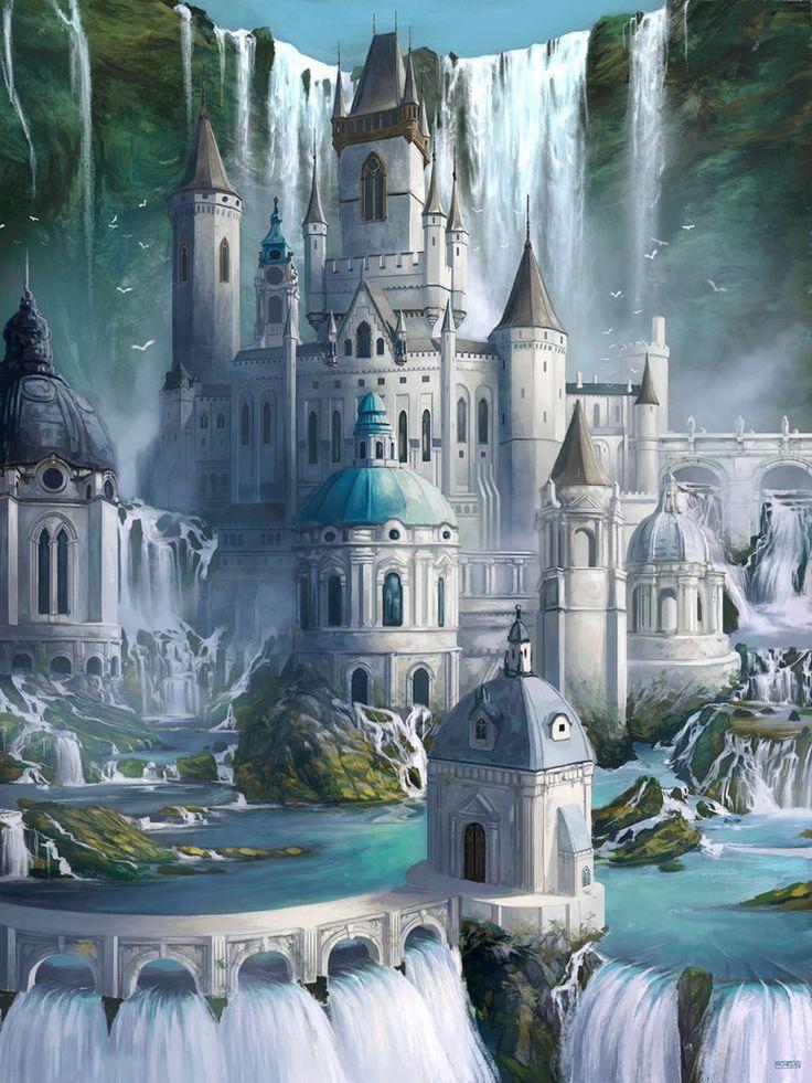 Keep of the Thousand Falls by Steves3511.deviantart.com on @DeviantArt