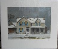 A.J. Casson--First Snow-Full Signature Limited Edition Art Print- Group of Seven |  $749.99