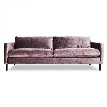 Love this color/fabric combo. Could be fun in the bedroom if it comes in any other pieces (armchair or settee) - STEPH