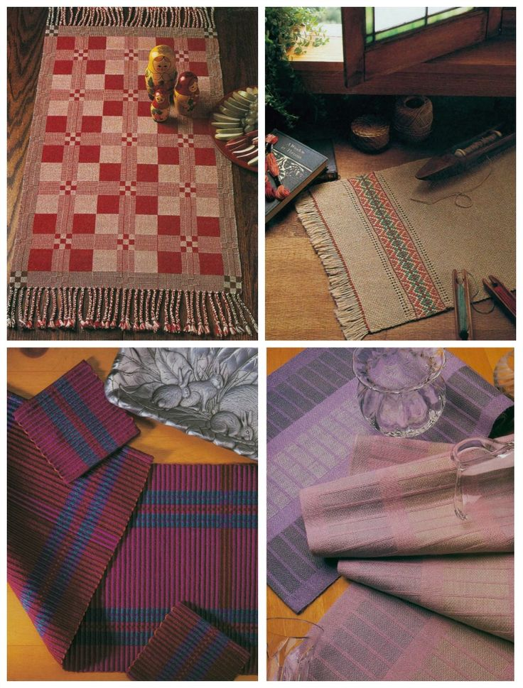 Basket Weave Table Runner Pattern : Best weaving projects and patterns images on
