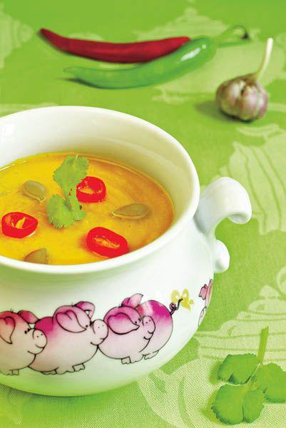 Supă-cremă de dovleac   Retete culinare - Romanesti si din Bucataria internationala