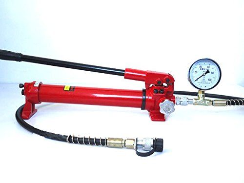 MABELSTAR Hydraulic Hand Pump With Gauge CP-700G Manual Hydraulic Pump Hydraulic Oil Pump