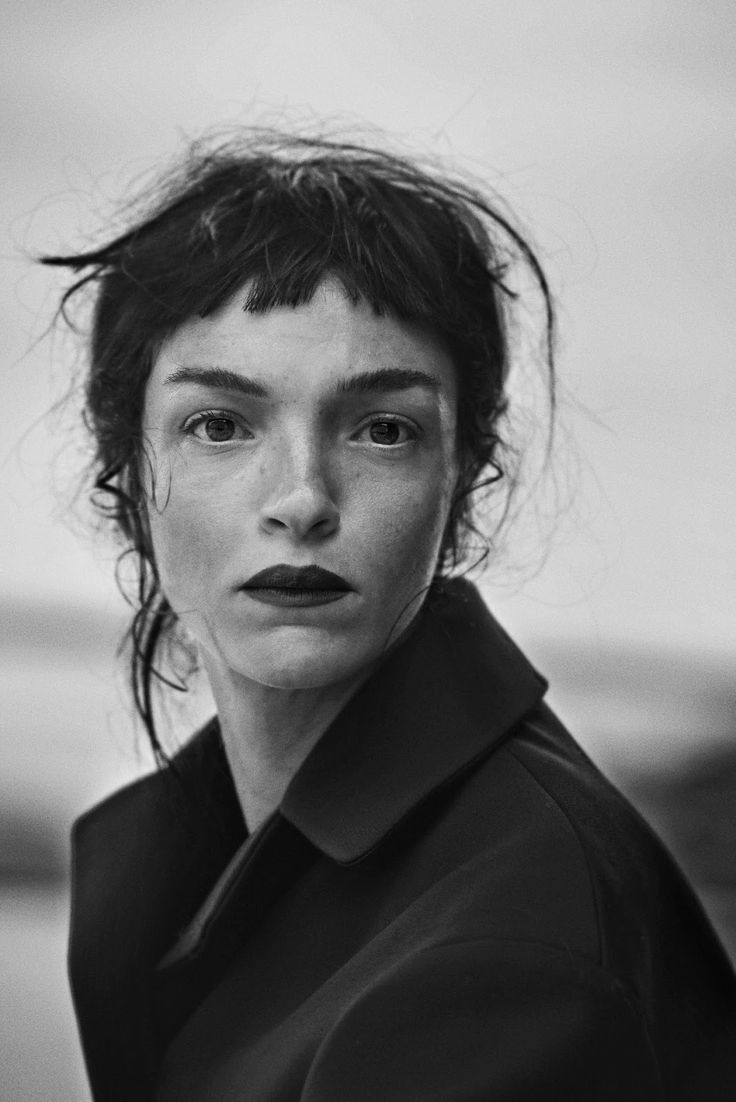 Smile: Mariacarla Boscono in Vogue Italia November 2014 by Peter Lindbergh