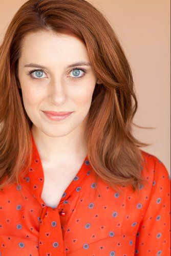 Sally Hughes-- gorgeous red hair color