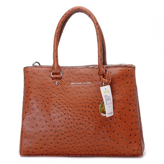 Brown Ostrich Michael Kors bag http://www.michaelkorsonlinewholesale.com/Michael-Kors-Ostrich-Embossed-Large-Coffee-Totes-p-2671.html