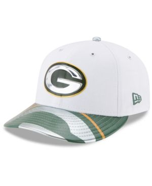 New Era Green Bay Packers Low Profile 2017 Draft 59FIFTY Cap - Green 7 5/8