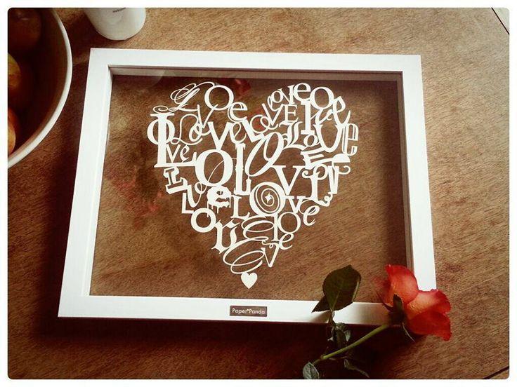 Beautiful paper cut from Paper Panda . . . https://www.facebook.com/PaperPandaPapercuts