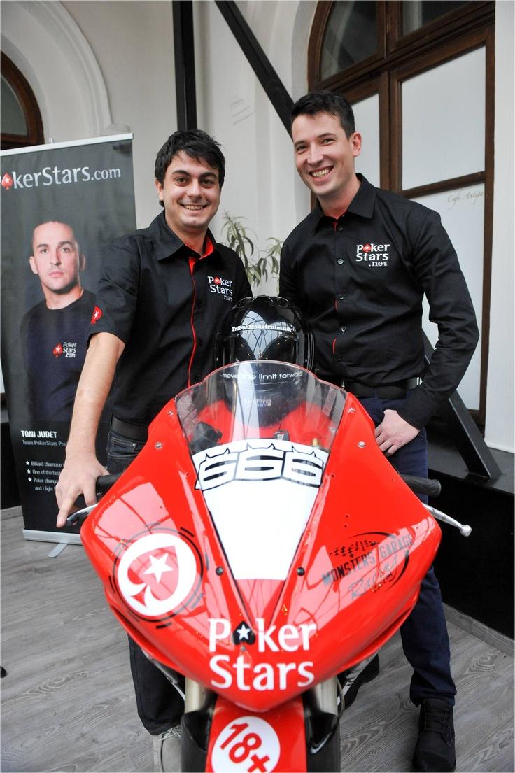 Alex Radu si George Negrea, aka Monsters Garage Racing Team, gata pentru sezonul RoSBK 2013.