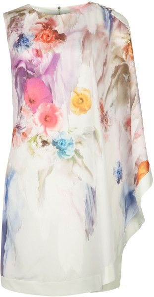 Love this: Dahnni Floral Printed Dress TED BAKER ENGLAND dressmesweetiedarling