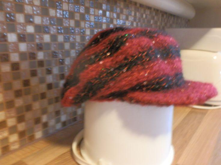 Virkattu hattu