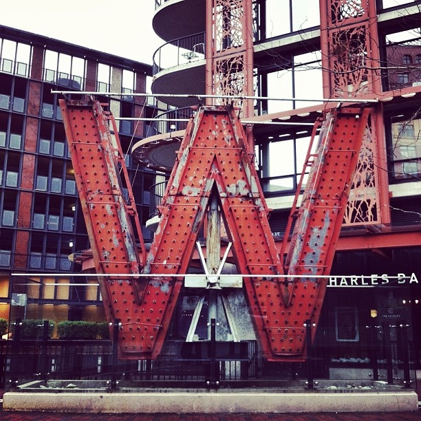 """Woodward's original W."" An iconic #Vancouver sign. Photo by @sengstagram #explorebc"