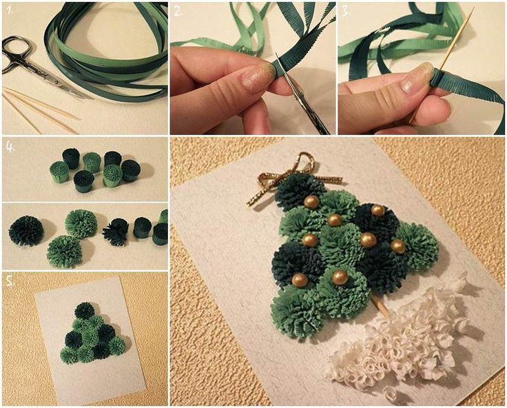 Creative Ideas - DIY Mini Quilling Christmas Tree   iCreativeIdeas.com Follow Us on Facebook --> https://www.facebook.com/iCreativeIdeas