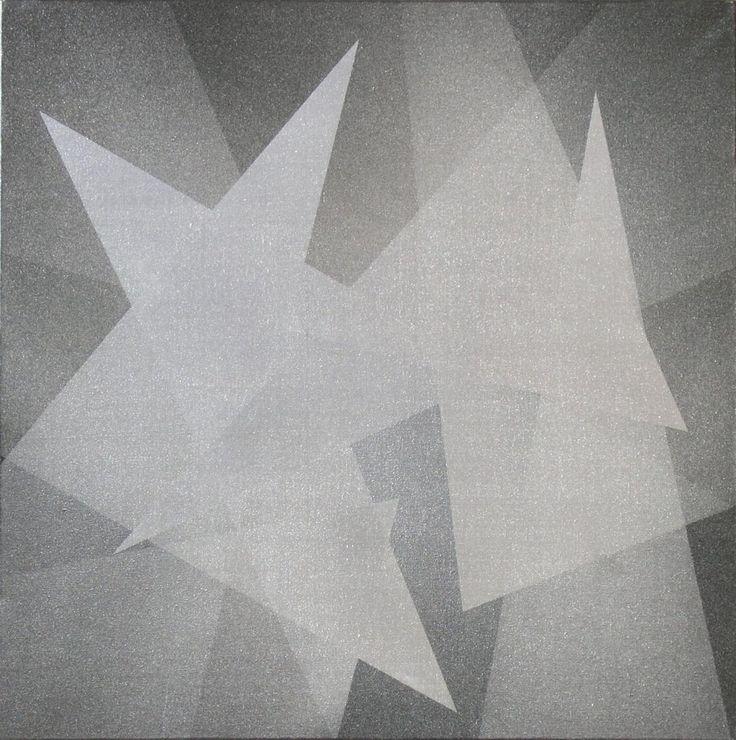 Józef ROBAKOWSKI ,Kąty energetyczne, olej, płótno, 60 x 60 cm